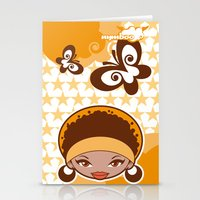 Bee-J Color2 Stationery Cards