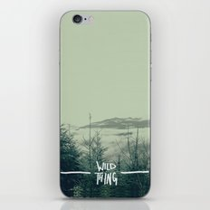 Wild Thing: Skagit Valley, Washington iPhone & iPod Skin