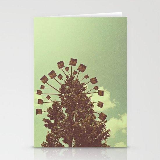 Lights Stationery Card