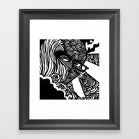 Night And Day Framed Art Print