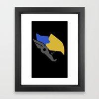 Justice Rains Framed Art Print