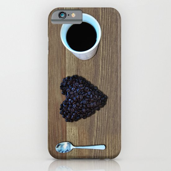I Love Coffee iPhone & iPod Case