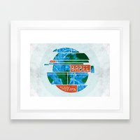 Tower of Babel (by Amy Hardy) Framed Art Print