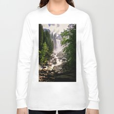 Yosemite Waterfall Long Sleeve T-shirt