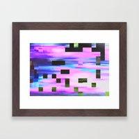 Scrmbmosh30x4a Framed Art Print