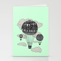 Hot Air Ballooning Stationery Cards