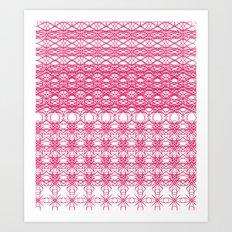 Filigree Floral Art Print