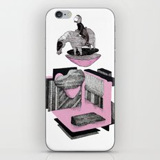 girl look at the... iPhone & iPod Skin