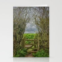Under and Through Stationery Cards
