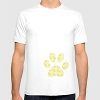 Blooming Mens Fitted Tee White SMALL