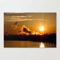 Risen To Flight Canvas Print