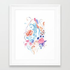 a hopeless romantic Framed Art Print