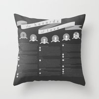The Hazards of Love (all of it) Throw Pillow