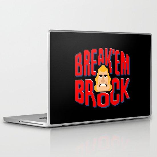 Break'em Brock Laptop & iPad Skin