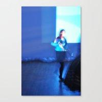 Blue Screen Canvas Print