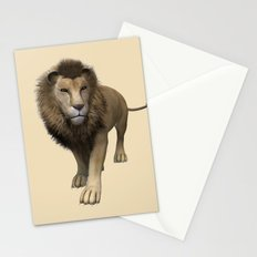 Male Lion Stationery Cards