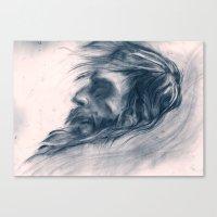 Snow Angel Canvas Print