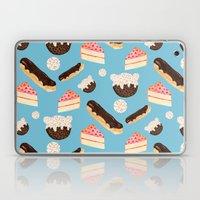 Sweet Things (on Blue) Laptop & iPad Skin