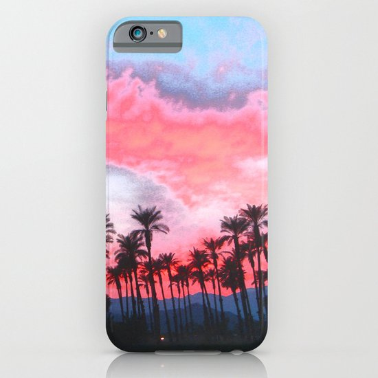 Coachella Sunset iPhone & iPod Case