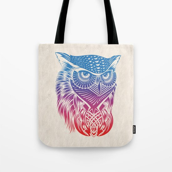 Owl of Color Tote Bag