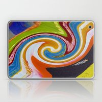 Spirals Color Material Laptop & iPad Skin