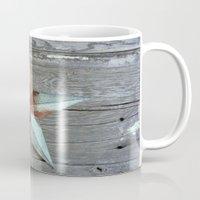Primitive Rusty Star Mug