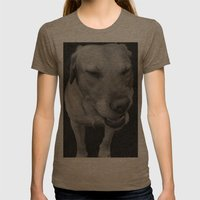 Elvis Bailey Womens Fitted Tee Tri-Coffee SMALL