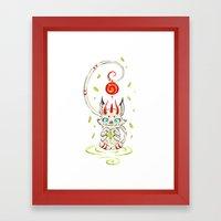 Little Monster 2 Framed Art Print