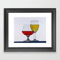 Glass Studio Framed Art Print
