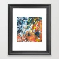Color Commentary #13: Go… Framed Art Print