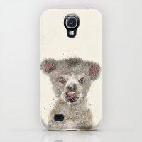 Galaxy S4 Cases featuring little koala by bri.buckley