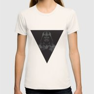 Lord Vader Womens Fitted Tee Natural SMALL