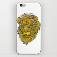 Dandy Lion iPhone & iPod Skin