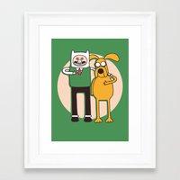 A Grand Adventure Framed Art Print