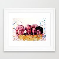 Hey You Guys! Framed Art Print