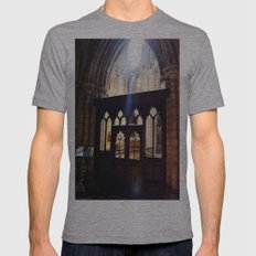 Do You See the Light? Mens Fitted Tee Athletic Grey SMALL