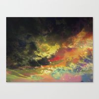 Deleting The Day Canvas Print