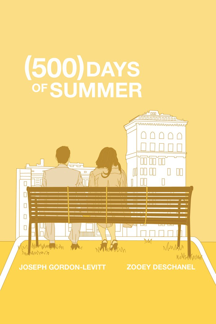 (500) Days of Summer Art Print by Ambivalentpress | Society6