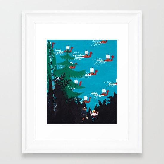 Russian Folk Tales - Bird´s Tongue Framed Art Print