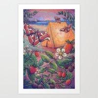 Goji Beach Art Print