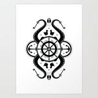 Secrets Of The Sea Art Print