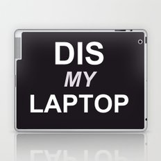 Dis My Clothing Line Laptop & iPad Skin