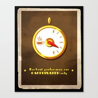 The Coffee Meter Canvas Print