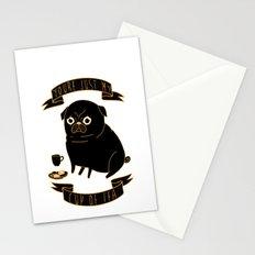 Tea Pug Stationery Cards