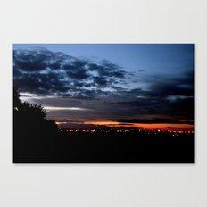 Dramatic Clouds Canvas Print