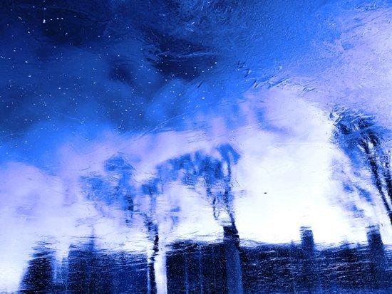 Winter Blue(s) 2>3 Art Print