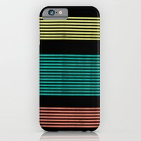 iPhone & iPod Case featuring Stripes by Monty