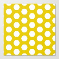 Canvas Print featuring Paulsen Yellow by Stoflab