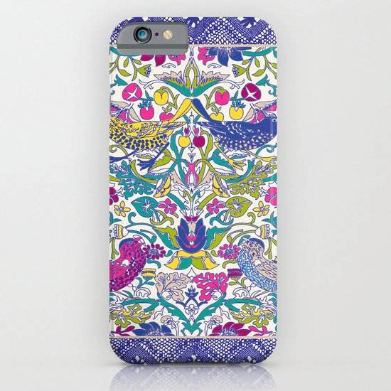 vintage wallpaper bright iPhone & iPod Case