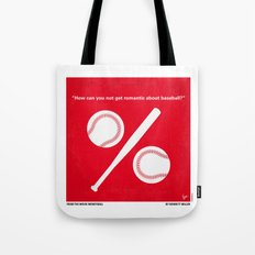 No191 My Moneyball minimal movie poster Tote Bag